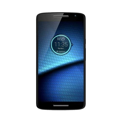 Droid Maxx 2 Black Front View