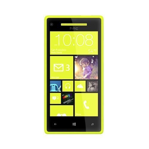 HTC Windows Phone 8X Yellow Front View