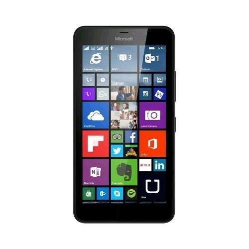 Nokia Lumia 640 Black Front View