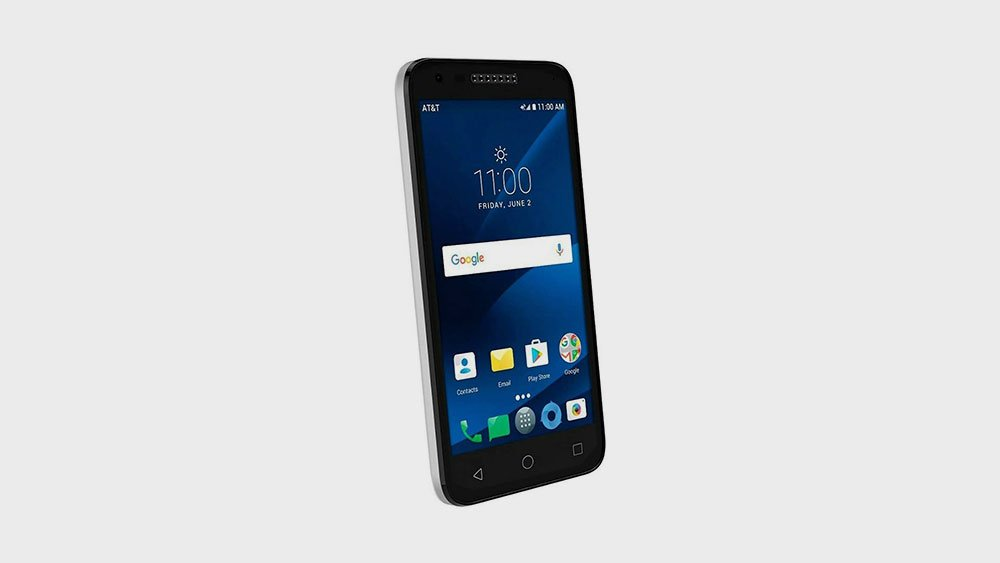 Alcatel CameoX Tilted Front View