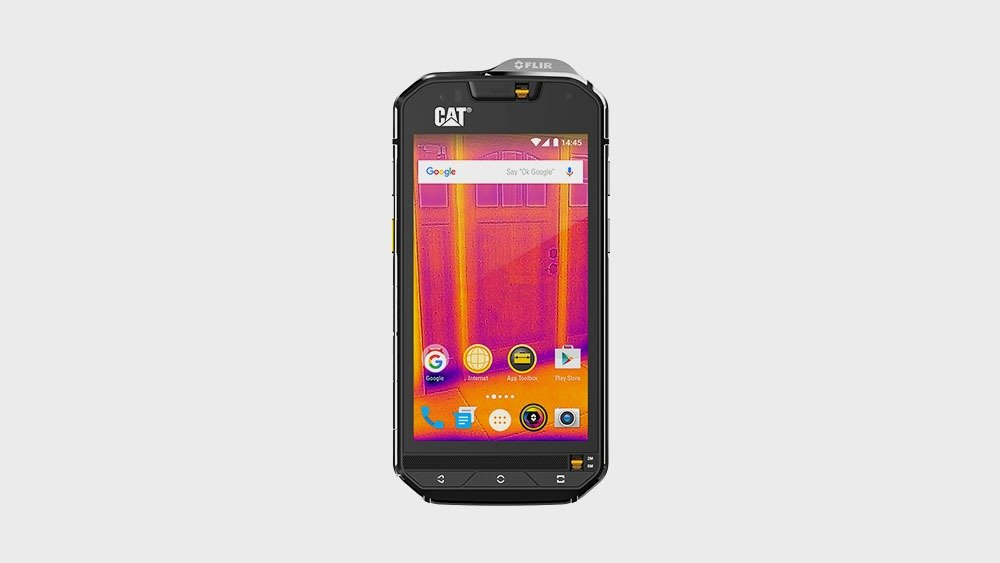 Rugged Cat S60 Front View