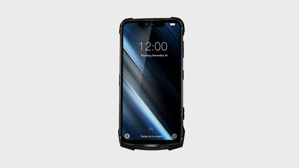 Rugged Doogee S90 Front View