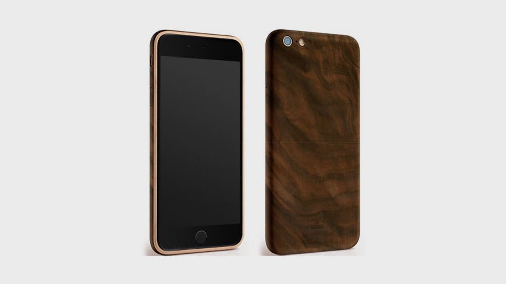 Miniot Wood Phone Case Front and Back View