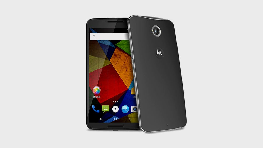 Motorola Moto X Pro Tilted Front and Back View
