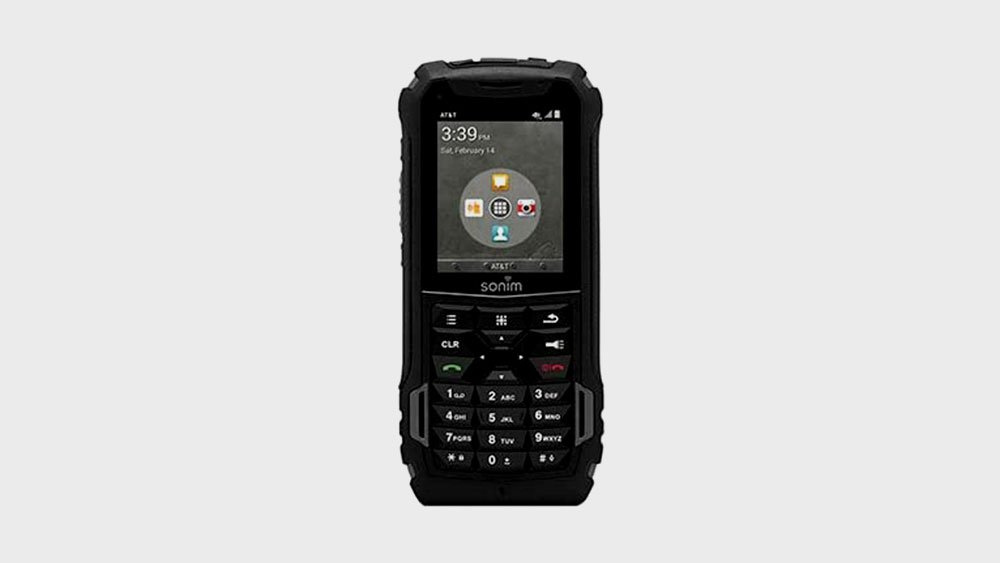 Sonim XP5 Ultra Rugged Front View