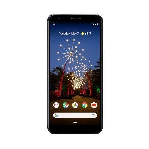 Google Pixel 3a Front View