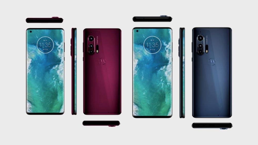Motorola edge plus all side views