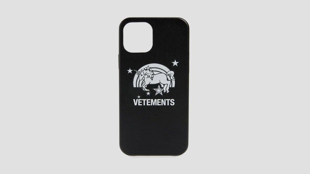 vetements unicorn phone case