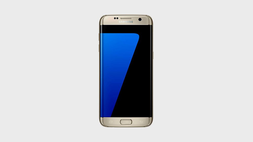 Samsung s7 edge front view
