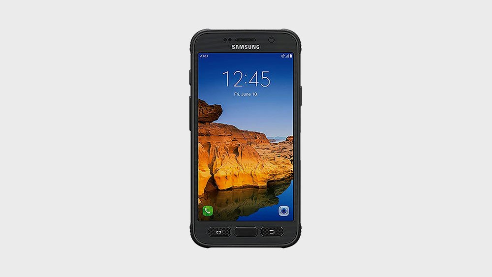 samsung s7 active front view