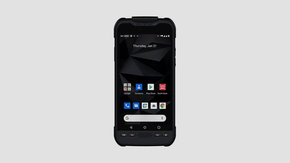 RS60 SmartScanner Front View