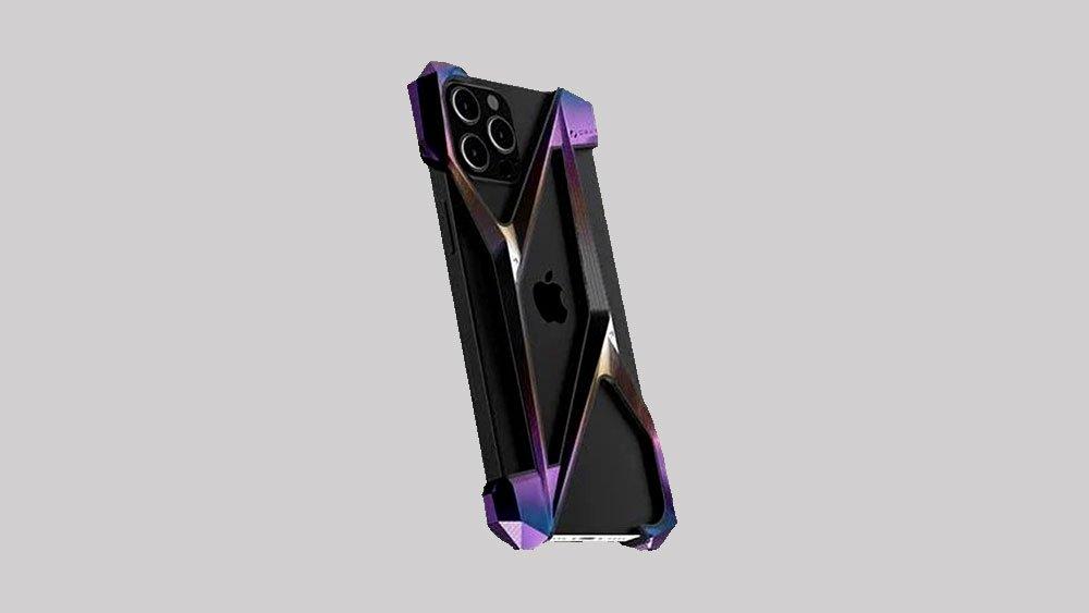 Alter Ego Aurora Titanium iPhone case
